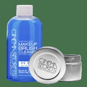 CINEMA SECRETS Professional Brush Cleaner | 236ml Pro Starter Kit & Tin