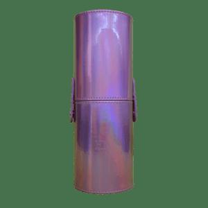 ELY MAYA Pink Holo Brush Case | Medium