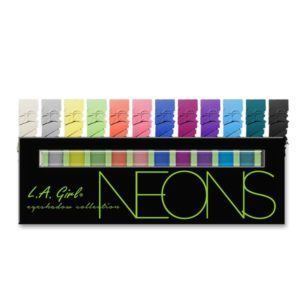 L.A. GIRL Beauty Brick Eyeshadow Collection | Neons GES334