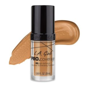 L.A. GIRL PRO Coverage Illuminating Foundation | Nude Beige GLM645