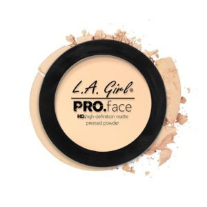 L.A. GIRL PRO Face Matte Pressed Powder | Fair GPP601