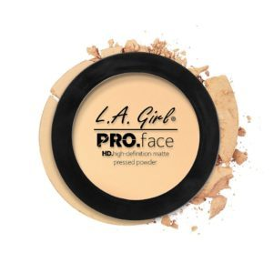 L.A. GIRL PRO Face Matte Pressed Powder | Classic Ivory GPP602