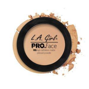 L.A. GIRL PRO Face Matte Pressed Powder | Nude Beige GPP605