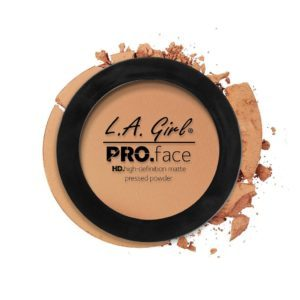L.A. GIRL PRO Face Matte Pressed Powder | Warm Honey GPP607