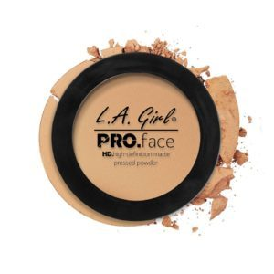 L.A. GIRL PRO Face Matte Pressed Powder | Soft Honey GPP608