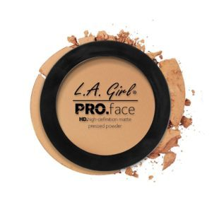 L.A. GIRL PRO Face Matte Pressed Powder | Medium Beige GPP609