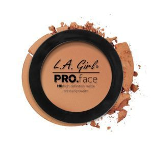 L.A. GIRL PRO Face Matte Pressed Powder | Warm Caramel GPP612
