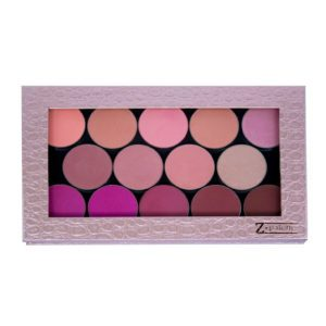 Z PALETTE Large Magnetic Palette | Rose Gold Croc