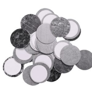 Z PALETTE Round Metal Stickers